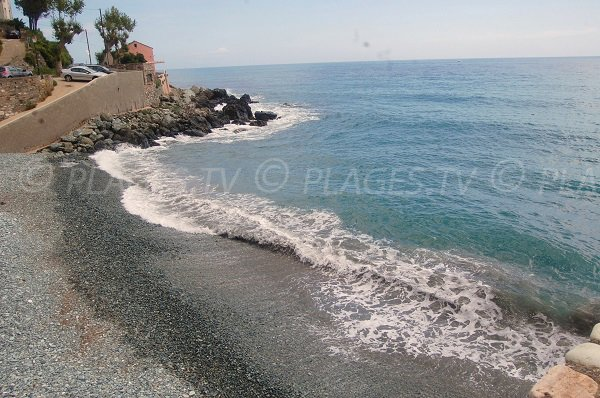 Photo de la plage de Lavasina au Cap Corse - Brando