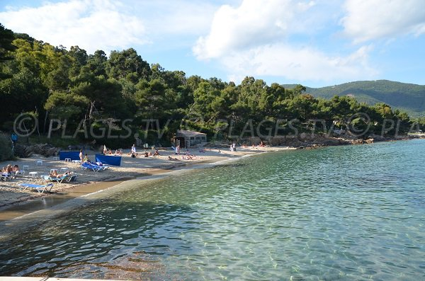 Layet beach in Lavandou - France
