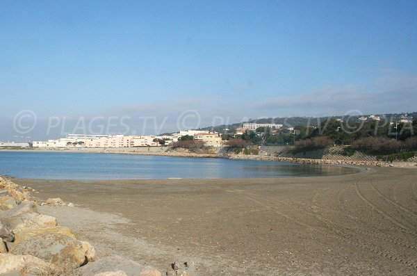 Photo of Lazaret beach in Sète