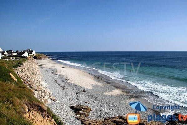 Photo de la plage du Gored à Plozevet - Bretagne