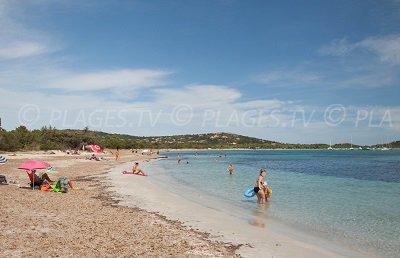 Plage à Lecci - Saint Cyprien - Corse