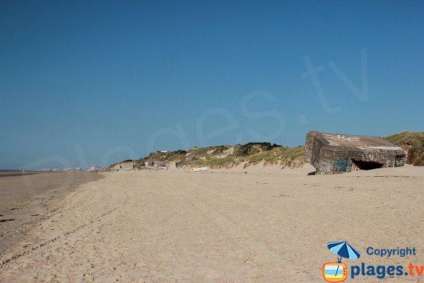 Batteria di Leffrinckoucke - spiaggia