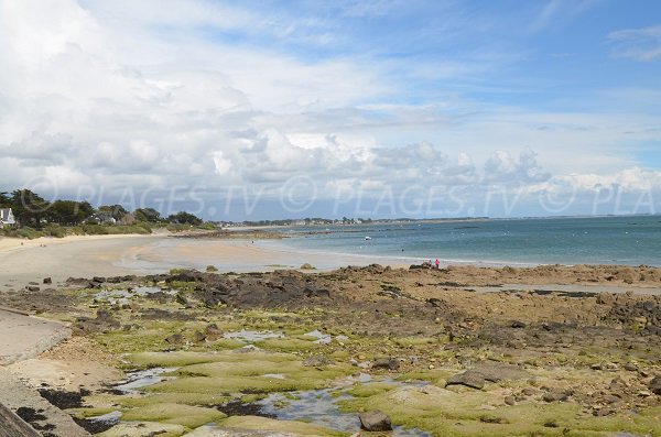 Légenèse beach in Carnac in France