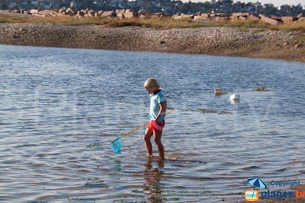 Pêche dans l'étang du Lenn