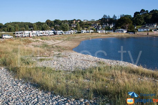 Photo de la plage du Lenn à Louannec