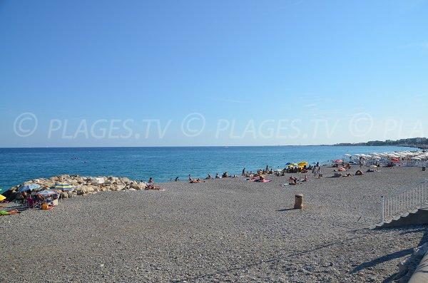Spiaggia privata Lenval a Nizza