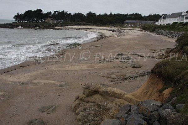Plage de Port Lérat à Piriac sur Mer