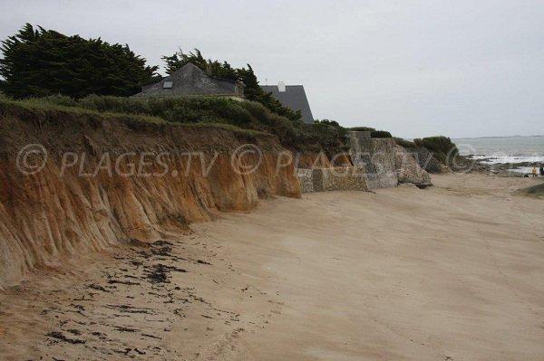 Plage de sable au sud de Piriac sur Mer