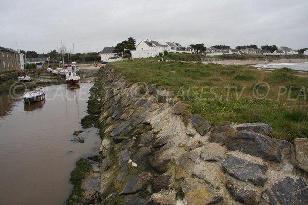 Petit port de Lérat à Piriac