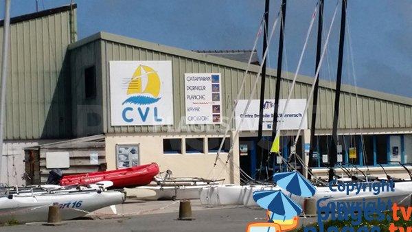 Centre nautique à Landéda