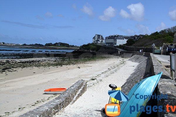 Photo de la plage des Anges à Landéda