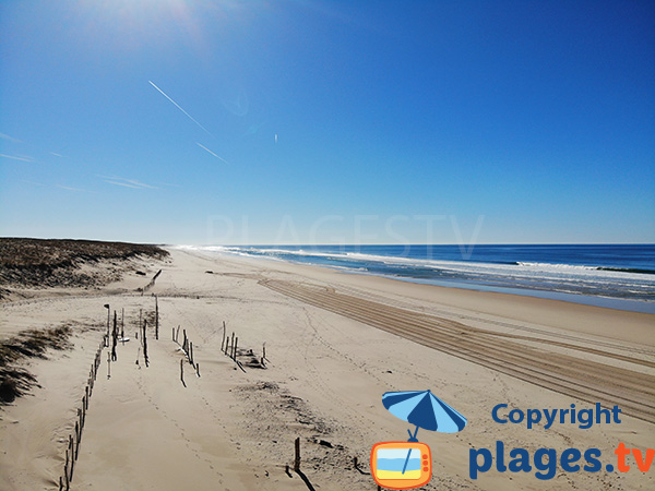 Foto spiaggia Mimizan
