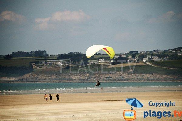 Photo de la plage de Lestrevet à Plomodiern - Bretagne