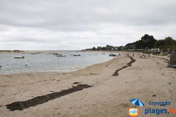 Photo of Letty beach in Bénodet in France