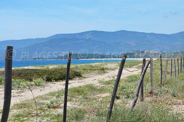 Beach in Casaglione in Corsica - Liamone