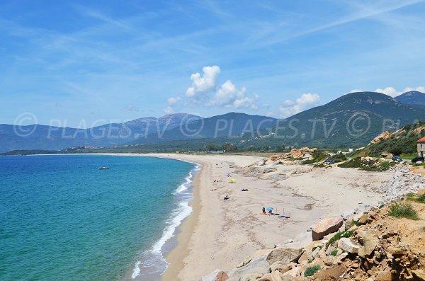 Liamone and San Giuseppe beaches in Casaglione - Corsica