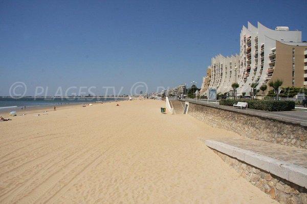 Spiaggia dei Libraires a Pornichet