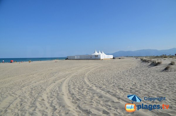 Photo of Lido beach in Canet-Plage