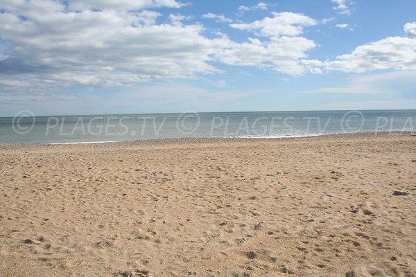 Plage de sable du Lido à Sète 34