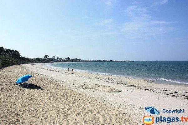 Photo de la plage de la Linière à Noirmoutier