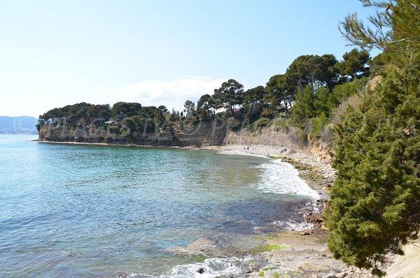 Liouquet beach in La Ciotat