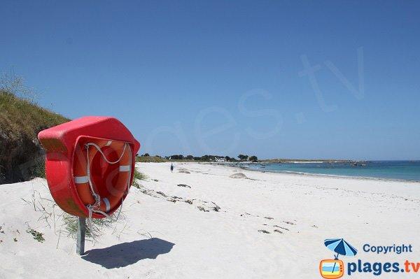 Photo de la plage du Lividic à Plounéour-Trez