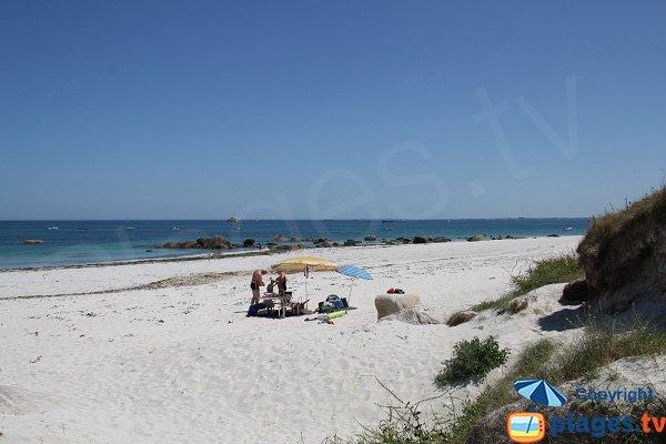 plage du Lividic à Plounéour-Trez
