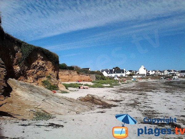 Plage de sable à Locmaria - Ile de Groix