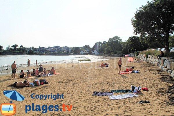 Plage de Locmiquel - Larmor-Baden