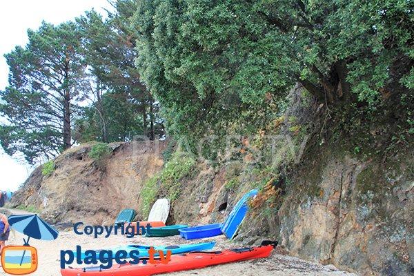Plage protégée des vents à Sarzeau - Logéo