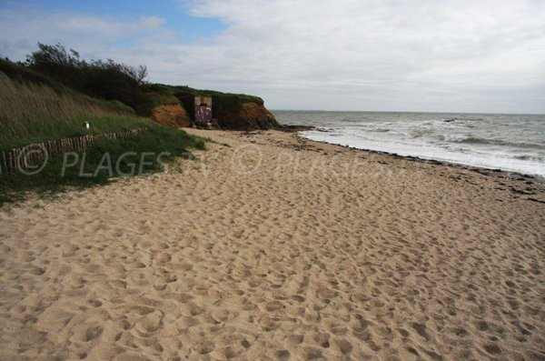 Photo of Lomer beach in Pénestin - Brittany