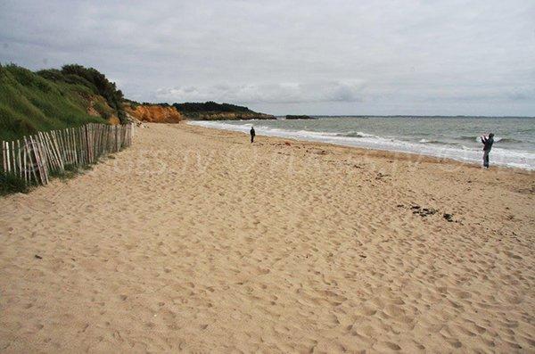 Photo de la plage de Loscolo à Pénestin