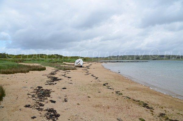 Photo de la plage du Losquet sur l'Ile Grande (Pleumeur Bodou)