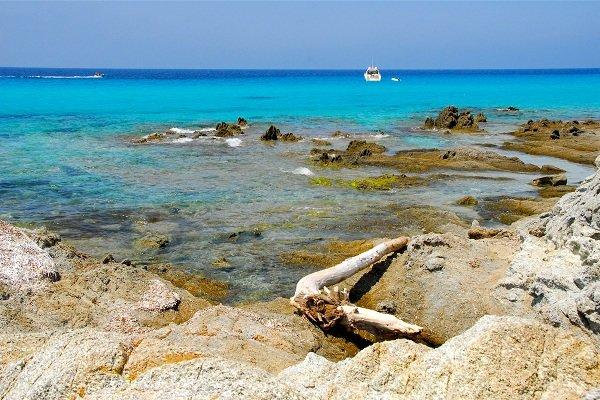 Cove near Loto beach in Corsica