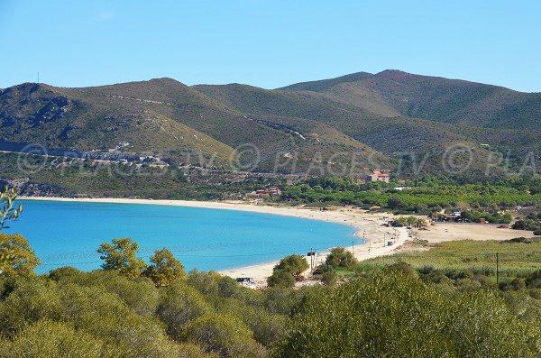 Photo de la plage de Lozari en Corse - Fin septembre