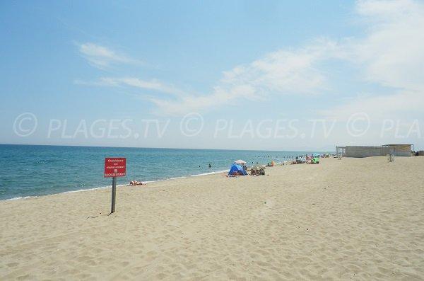 Spiaggia privaye Lydia - Port Barcarès