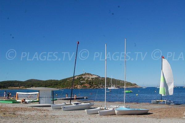 Centre nautique de la plage de Macinaggio