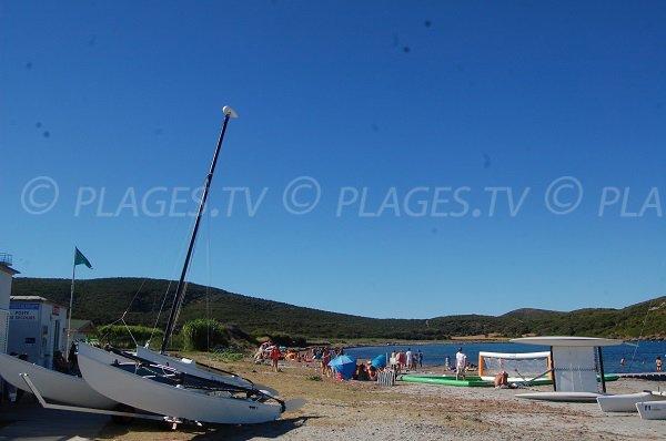 Photo de la plage de Macinaggio Cap Corse