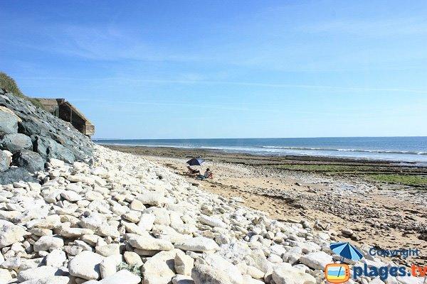 Photo de la plage de Madoreau - Jard sur Mer
