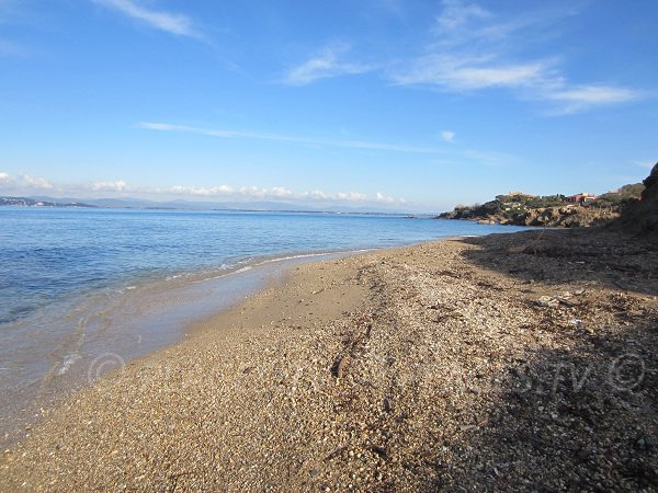 Madrague beach - Giens peninsula