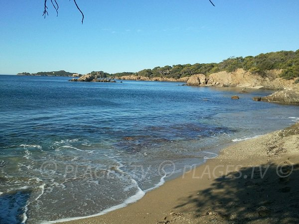 Photo of Madrague beach in Hyères - France