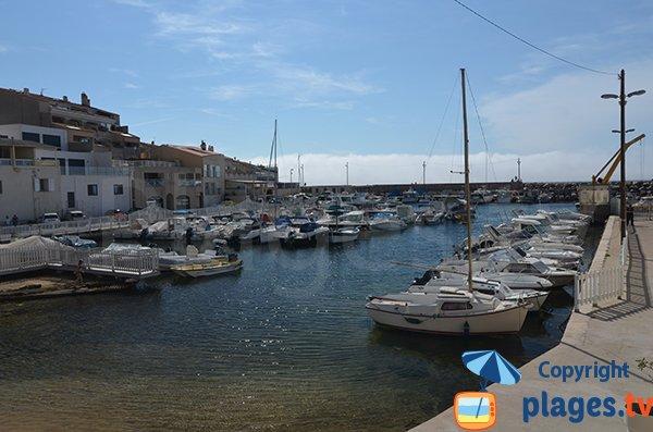 Spiaggia del Porto della Madrague - Marsiglia - Francia