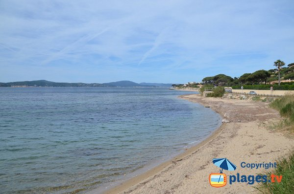Public beach in Ste Maxime - Madrague