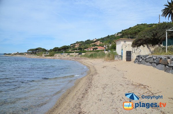 Photo of Madrague beach in Sainte Maxime - France