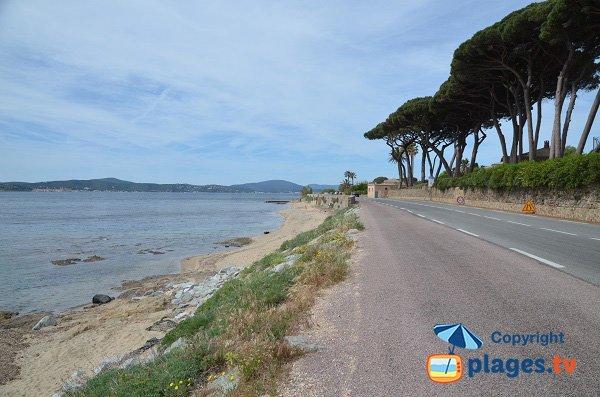Parcheggio per la spiaggia di Madrague