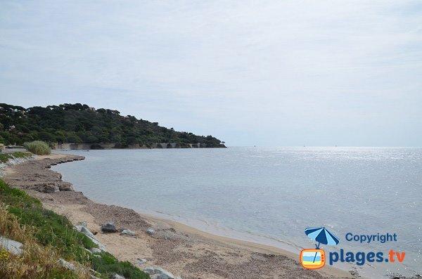 Spiaggia della Madrague a Sainte Maxime