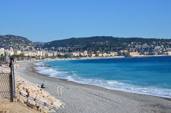 Plage de Magnan à Nice