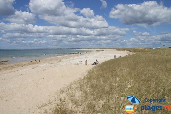Photo de la plage de Magouero à Plouhinec