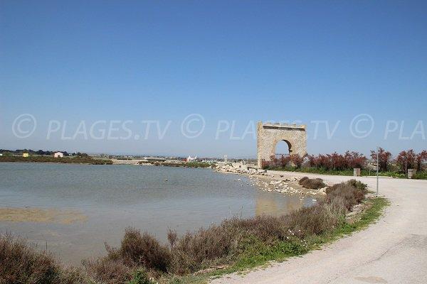 Sentier pédestre de la plage de Maguelone