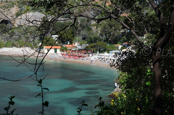 Mala beach in Cap d'Ail